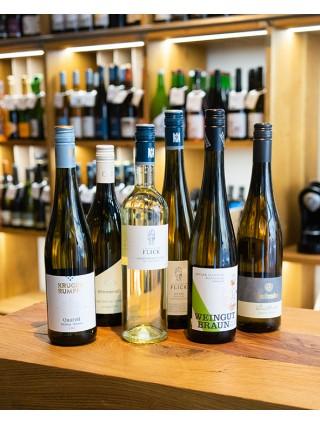 Podzimní výběr bílých vín